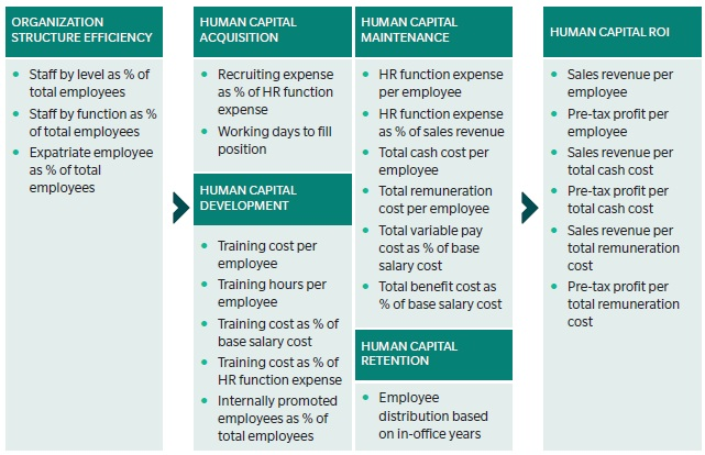 human capital examples business reports