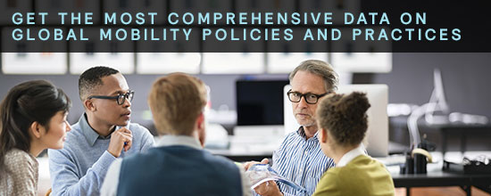 Get the most comprehensive data on global mobility policies and practices