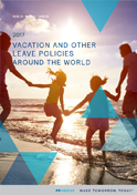 Vacation and other leave policies around the world