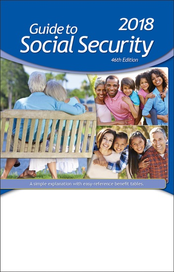 2018 guide to social security 46th edition rh imercer com Social Security My Statement Social Security Is Taxable